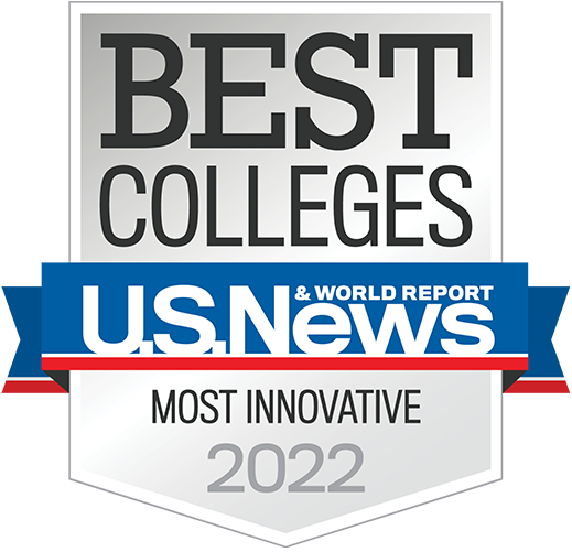 Most Innovative 2020 - Best Colleges U.S. News & World Report Badge